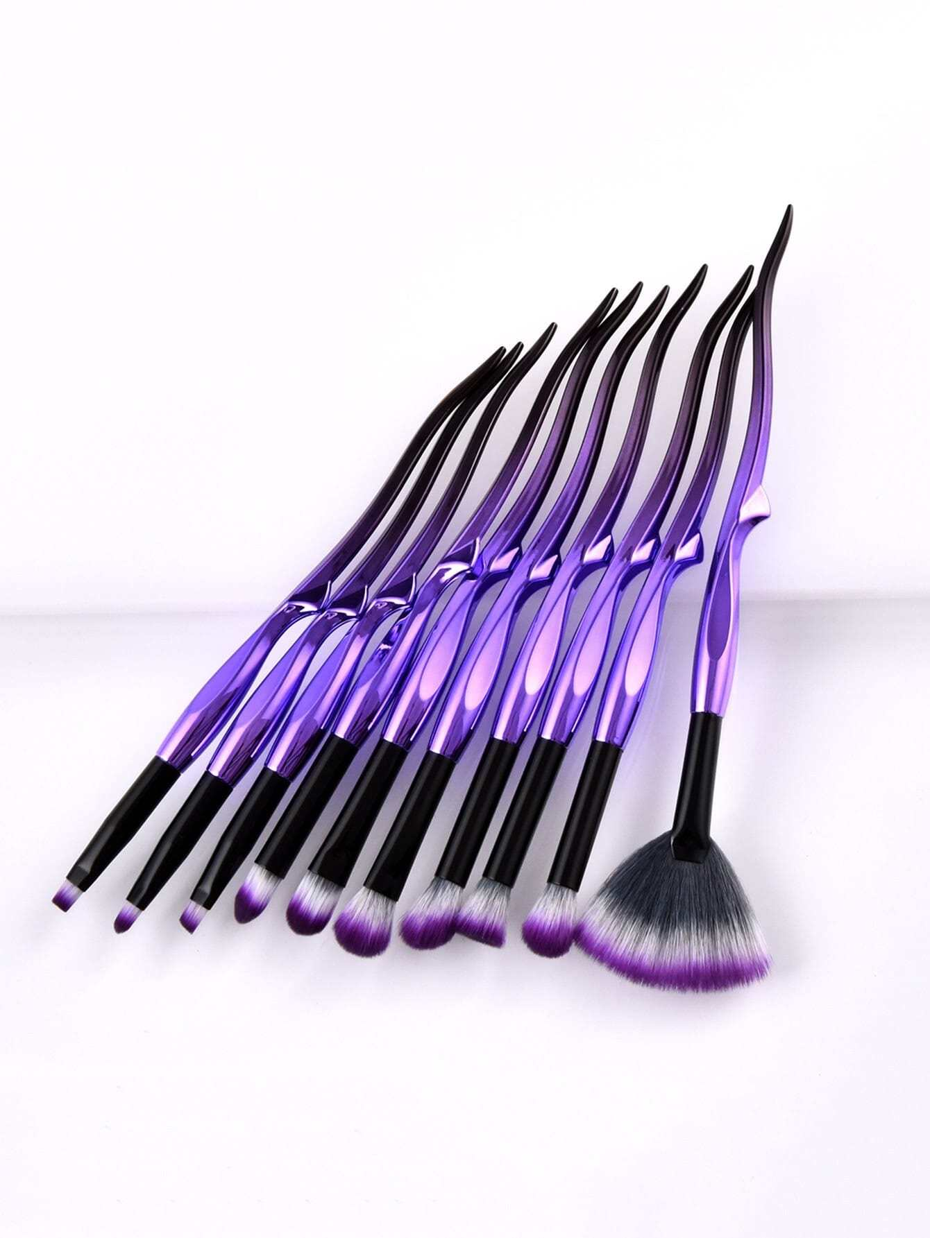 Image of Ombre Handle Eye Brush 10pcs