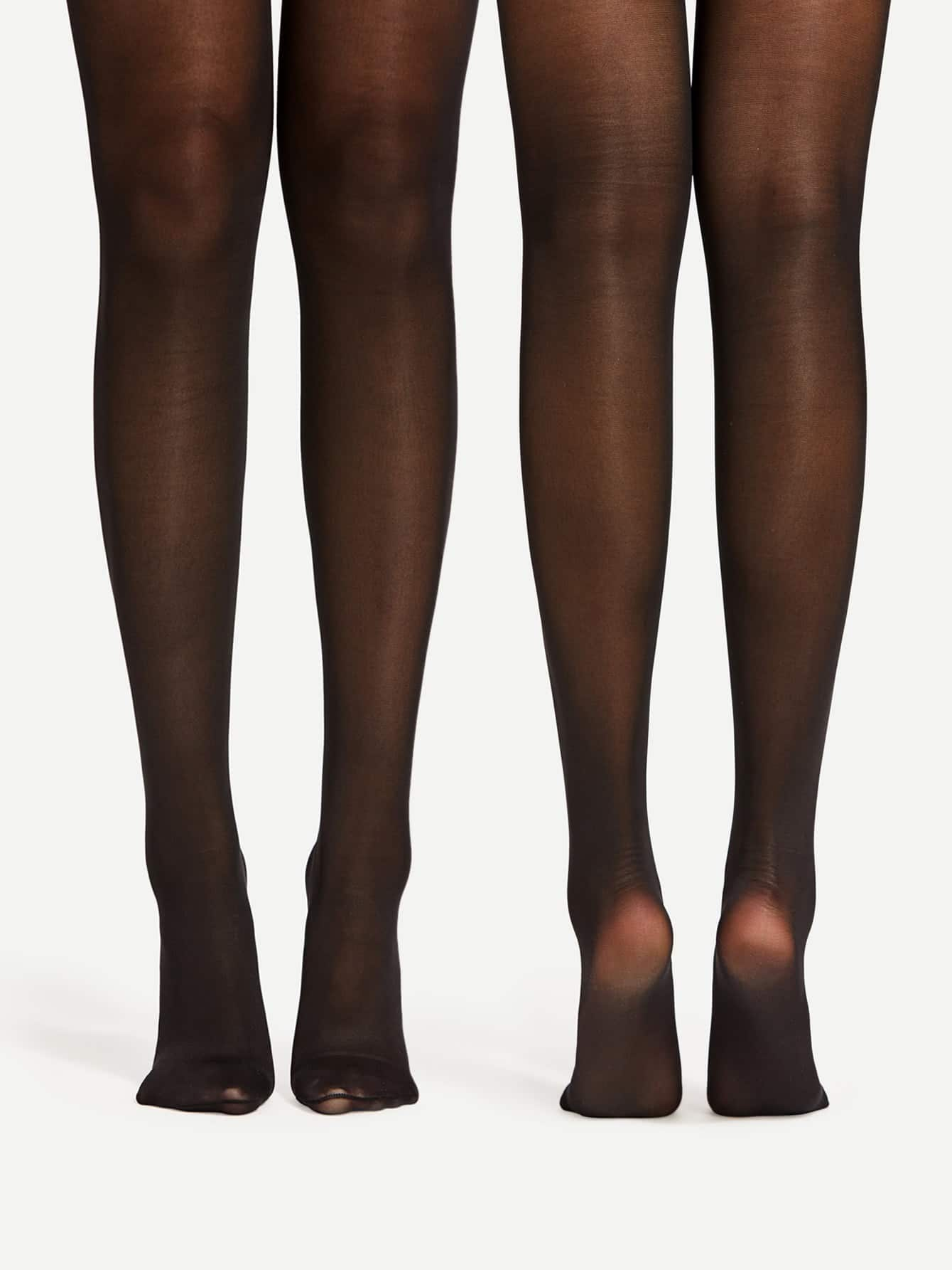 Image of 40D Mesh Tights 2pairs
