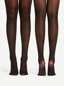 40D Mesh Tights 2pairs