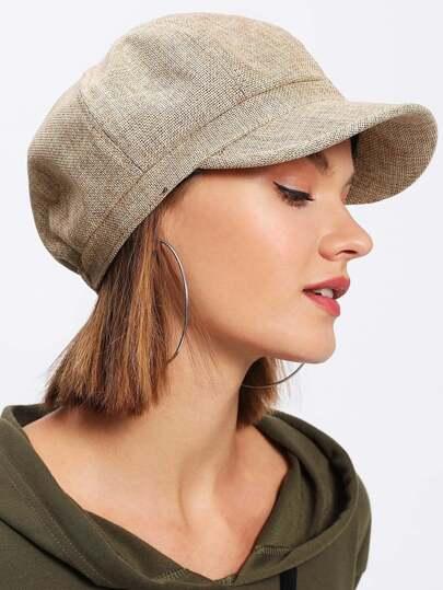 Elastic Bakerboy Hat