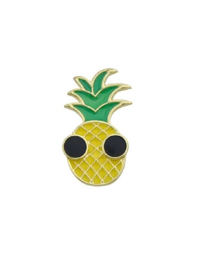 Émail Lovely Ananas Motif Femmes Broches
