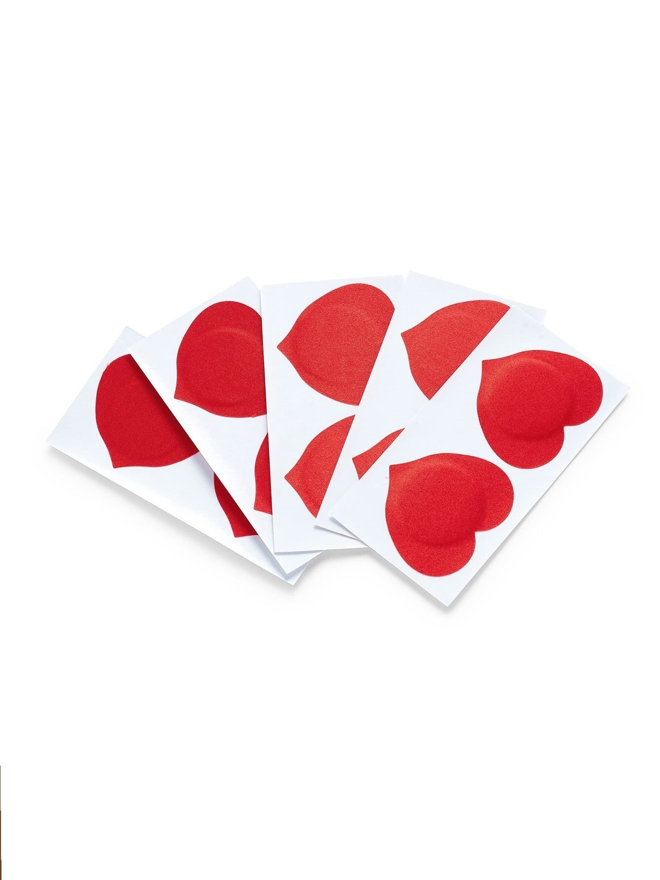 Disposable Heart Shaped Nipples Covers 5pairs женские чулки 1 5pairs
