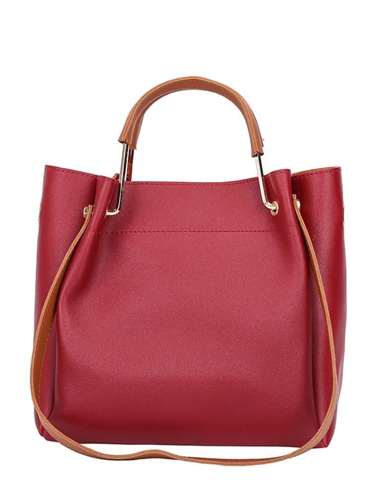 Купить Модная сумка с ручкой, null, SheIn