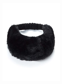Faux Fur Overlay Headband