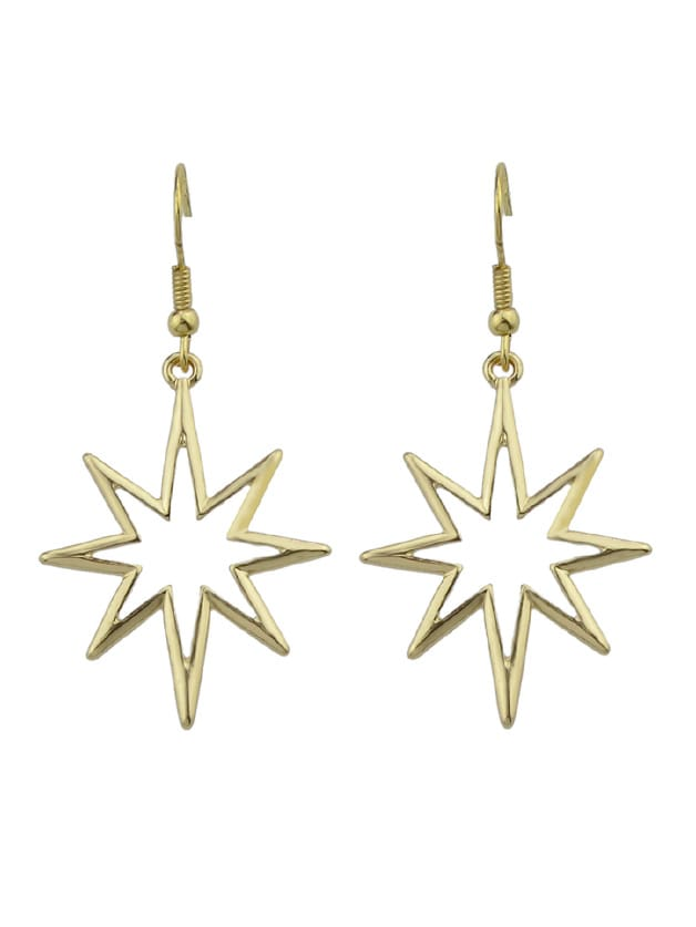 Gold Geometric Star...