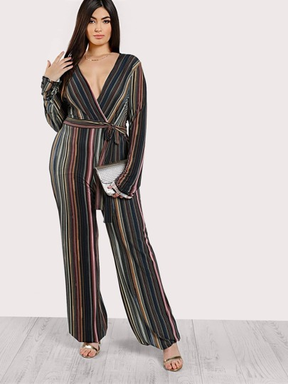 Multi Stripe Jumpsuit MULTI