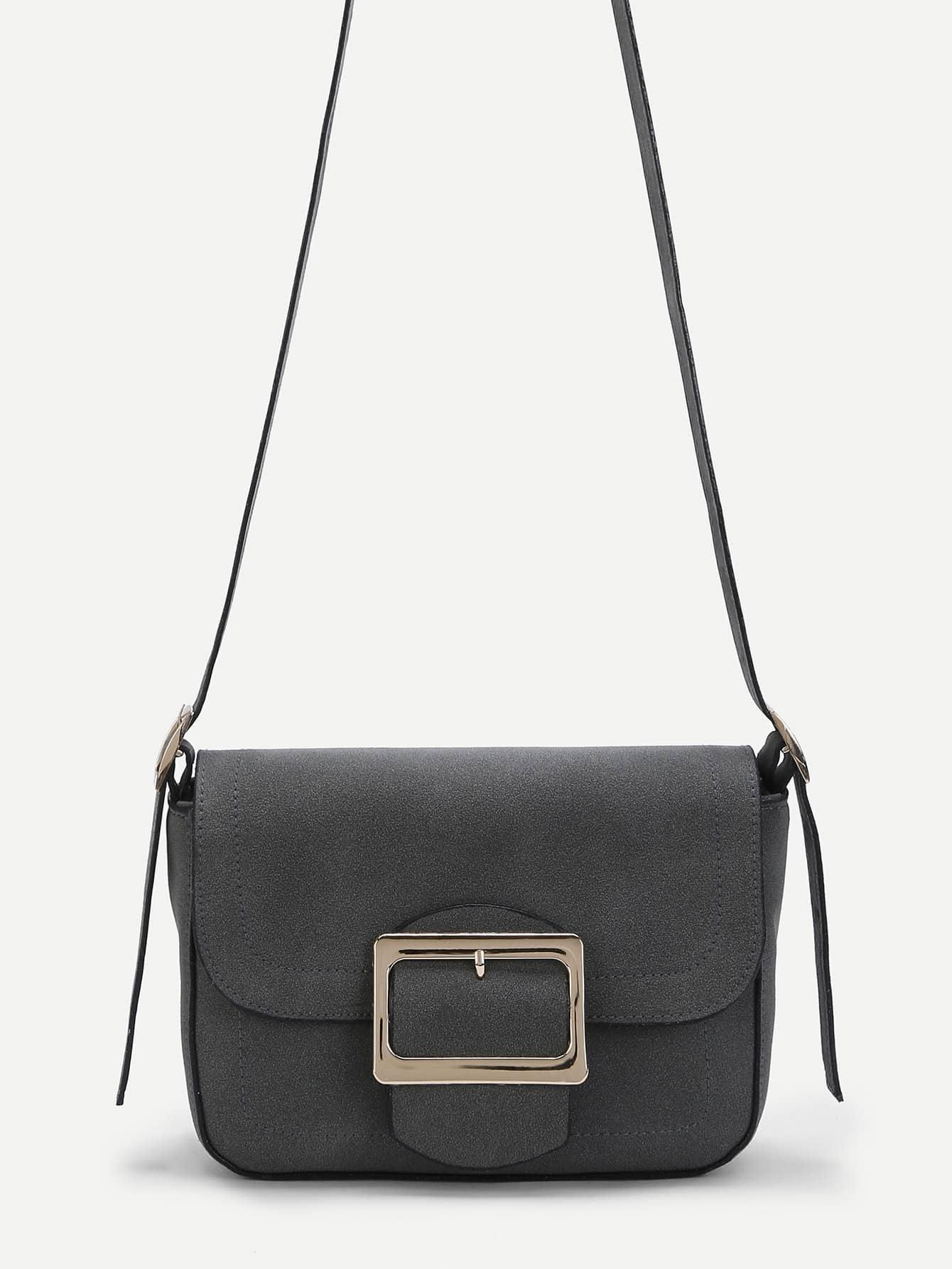 Модная замшевая сумка