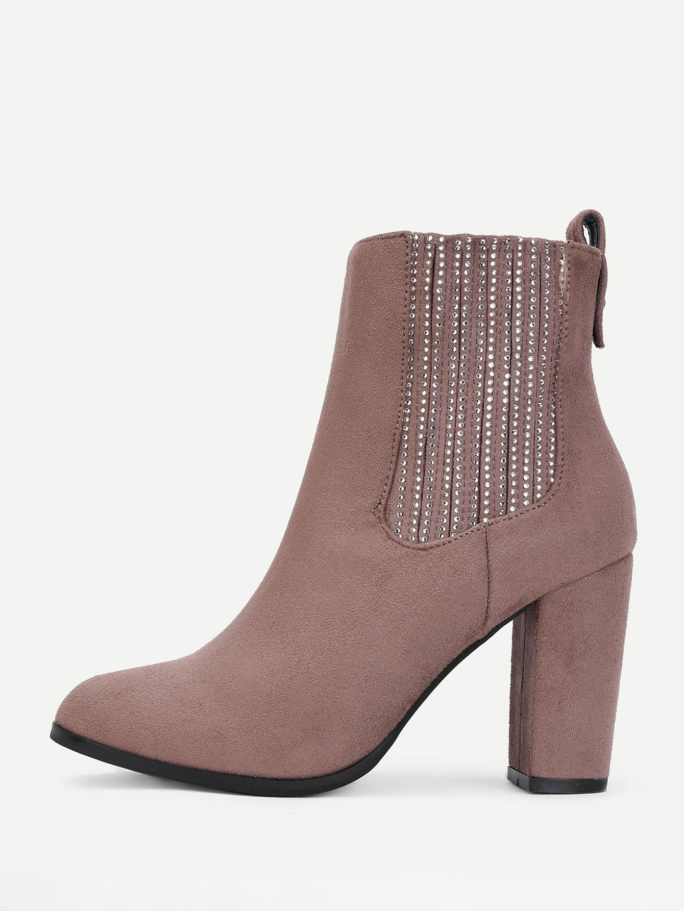 Studded Detail Wide Fit Ankle Boots планшет prestigio multipad wize 3151 3g 16 gb черный