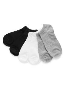 Plain Invisible Socks 3pairs