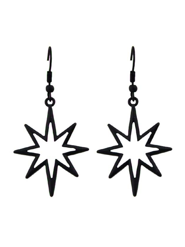 Black Geometric Star...