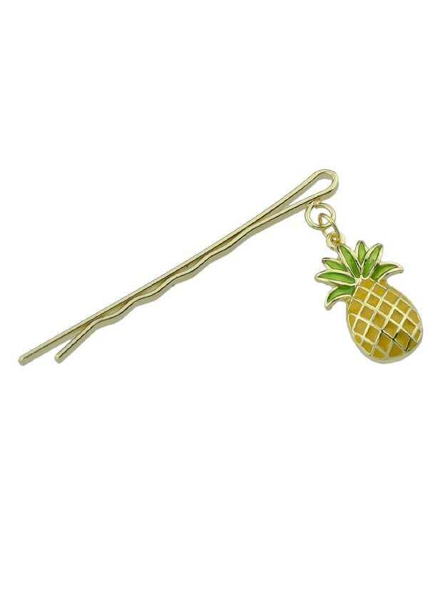 Ananas Charm Pattern Haarschmuck für Frauen