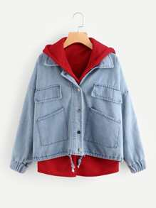 Модный комплект куртки