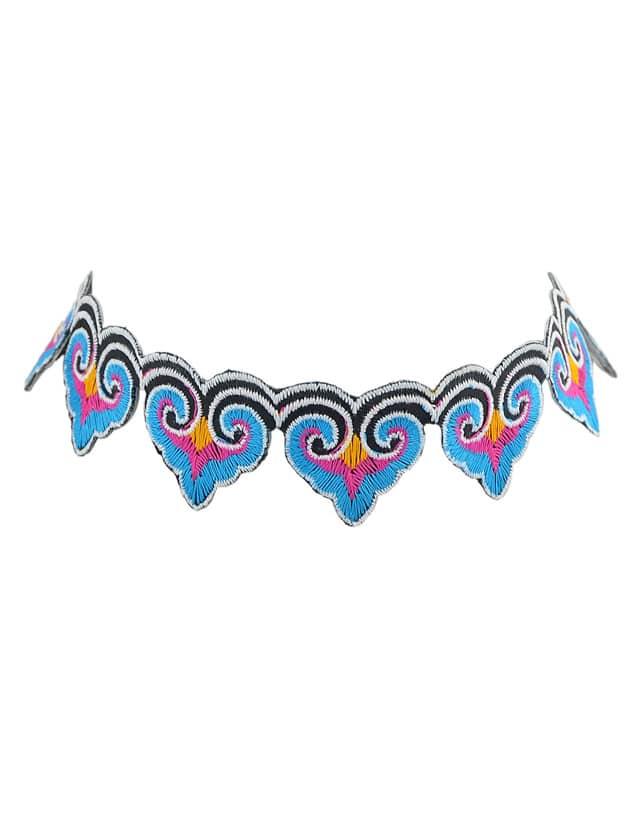 Black Ethnic Jewelry Tattoos Choker Necklace Handmade