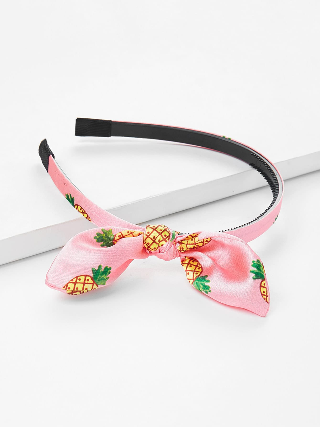 Ear Knot Headband 1pc kawaii cute lovely girls stretch ear turban knot hairband rabbit bow headband hair band accessories