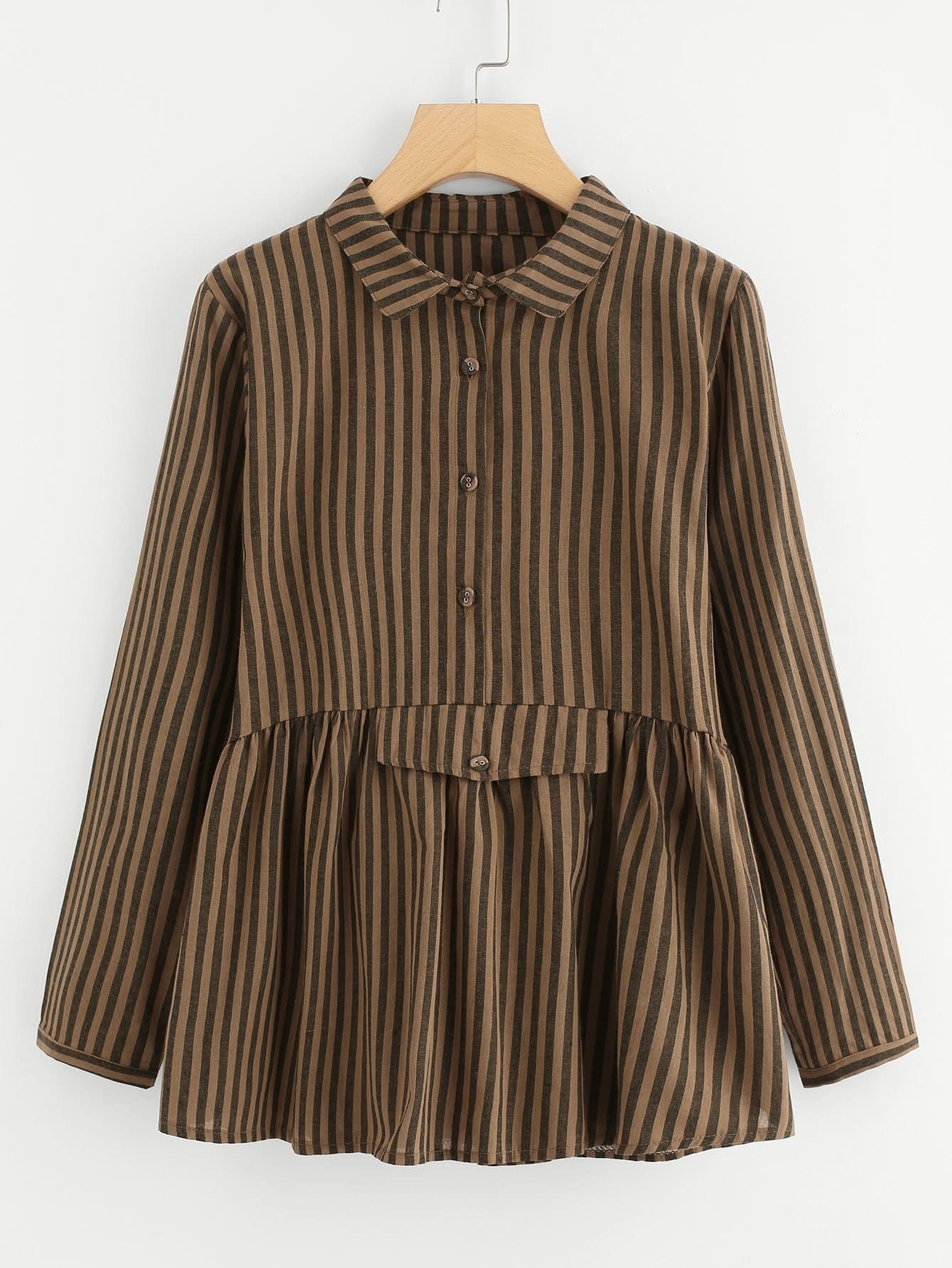 Blusa de rayas verticales spanish romwe - Paredes a rayas verticales ...