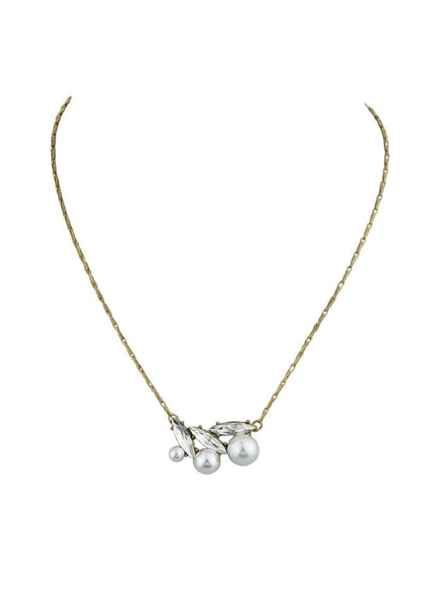 Retro Style Flower Pendants Necklace For Women