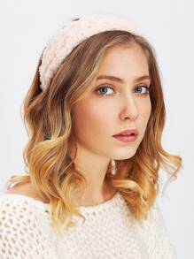 Rose Design Headband