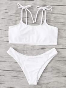 Knot Straps Bikini Set