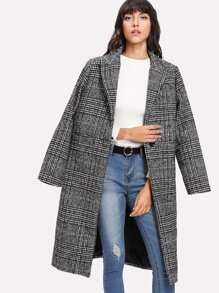 Tartan Plaid Coat