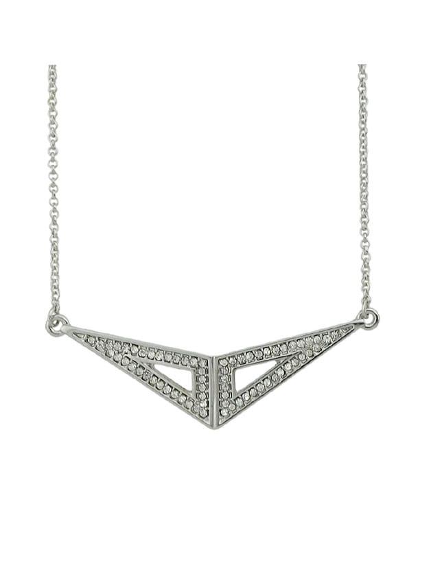 Geometric Triangle Pendants Necklace For Women