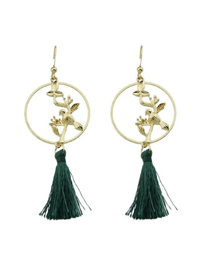 Bohemian Style Tassel Hanging Earrings