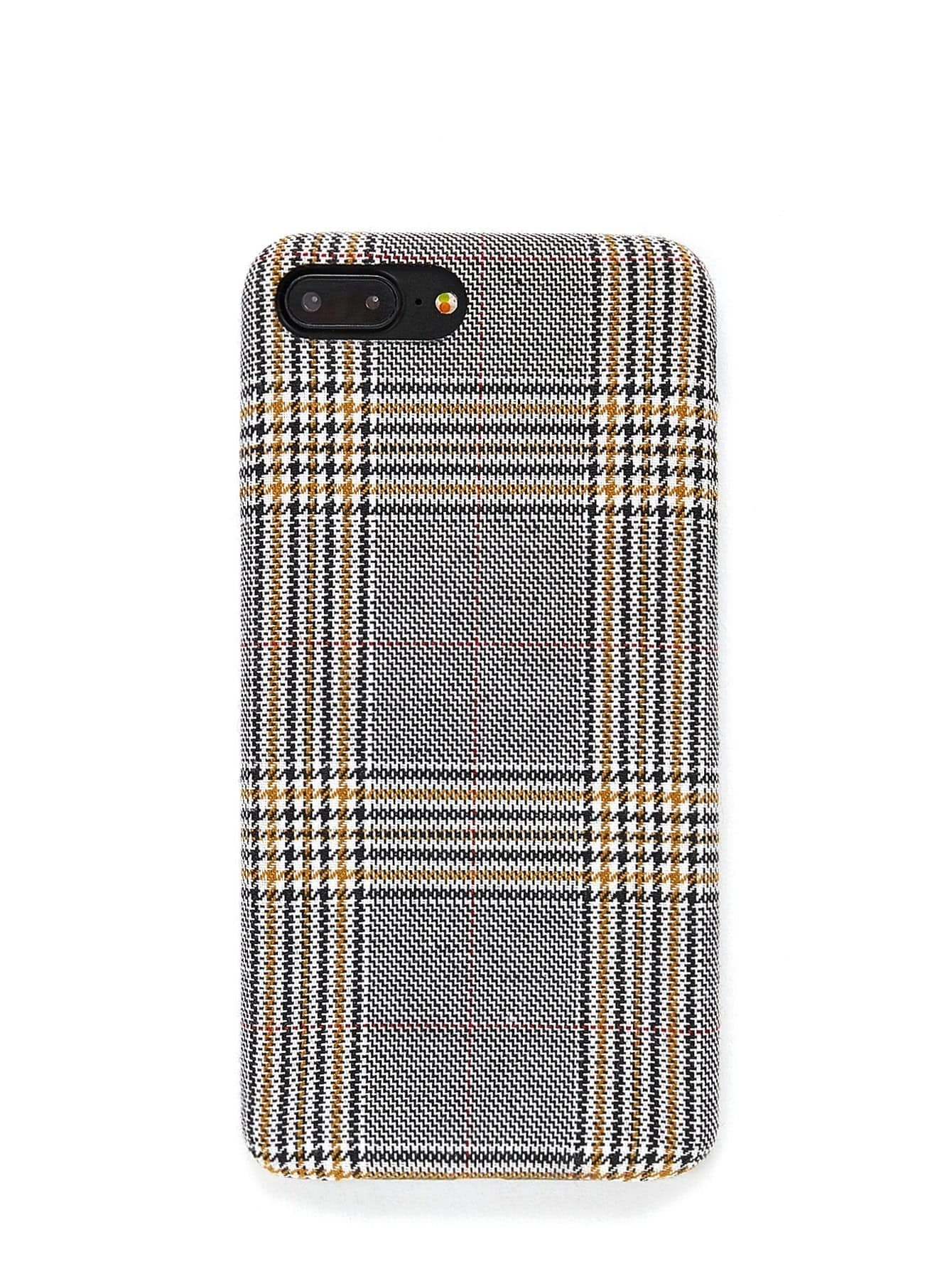 Gingham Print iPhone Case planet print iphone case