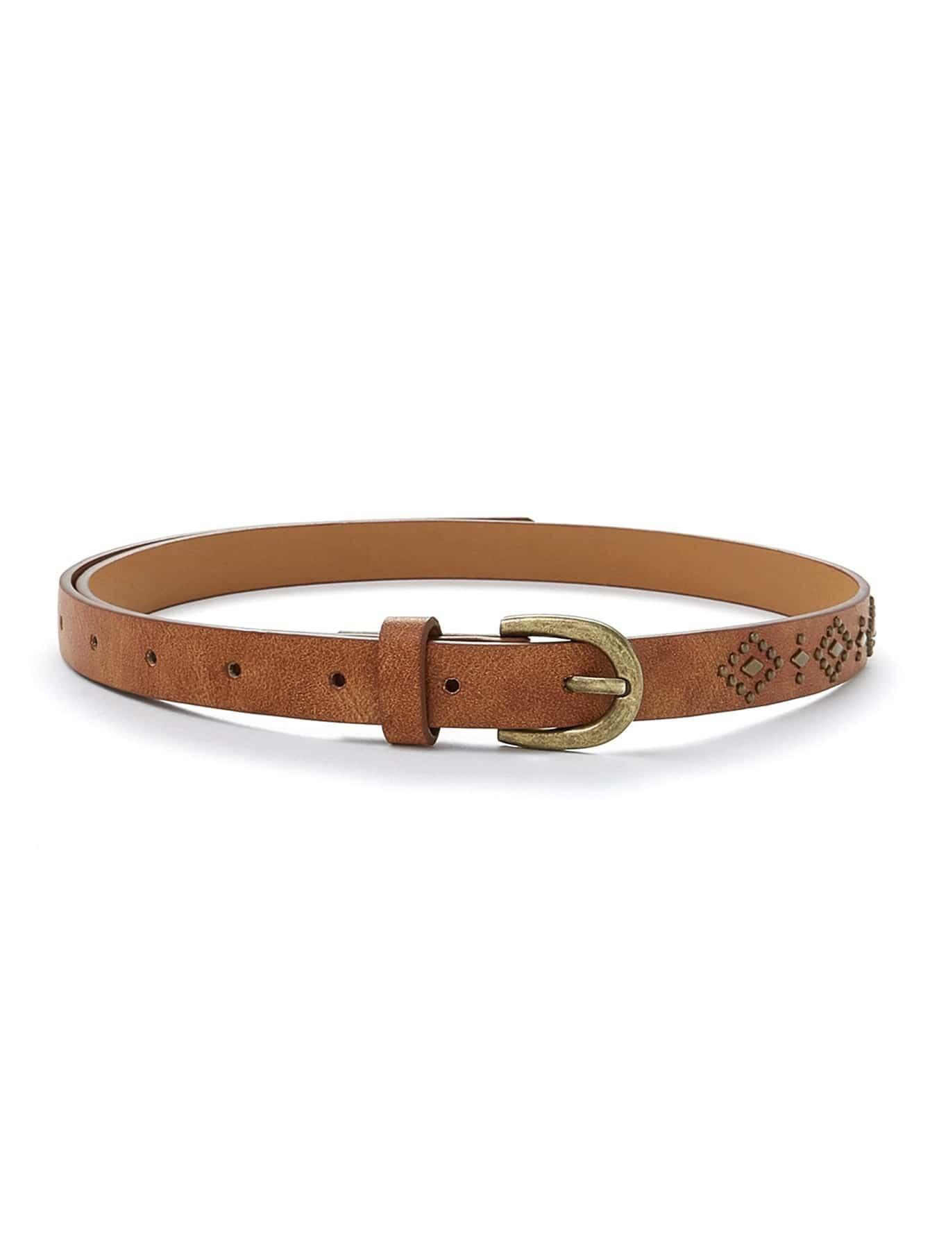 Studd Decorated Belt