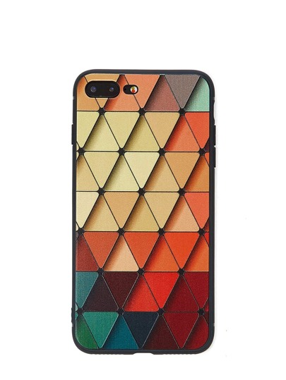 Geometric Print iPhone Case