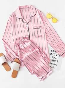 Set di pigiama lunga