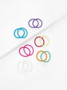Colorful Hair Tie 12pcs