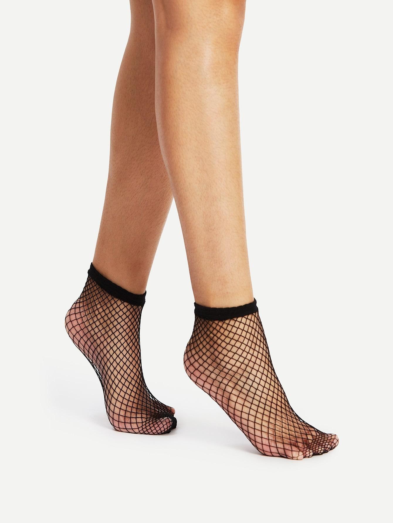Fishnet Ankle Socks fishnet ankle socks