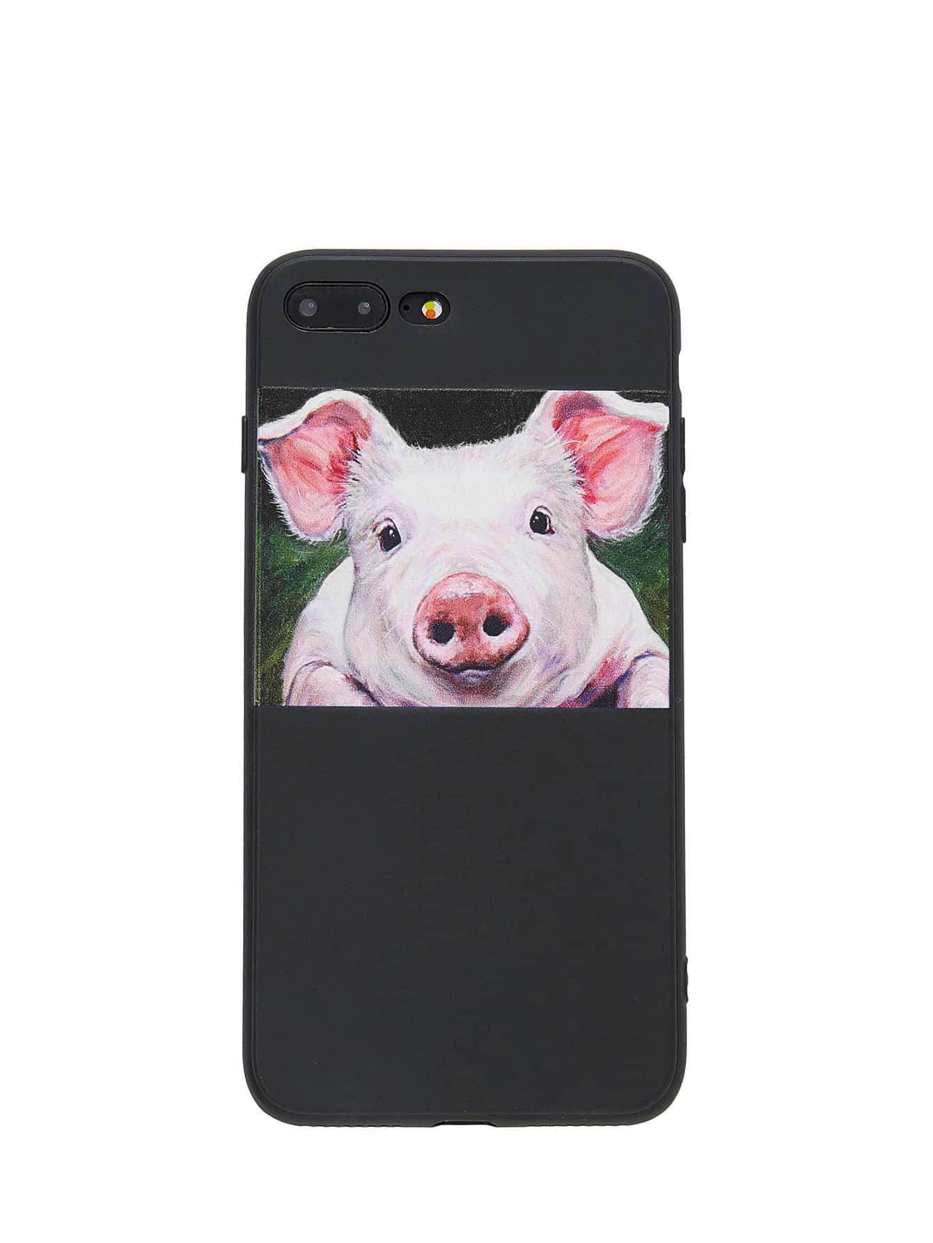 Pig Print iPhone Case planet print iphone case