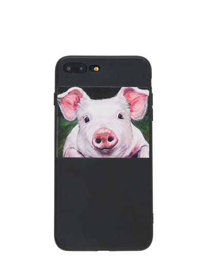 Pig Print iPhone Case