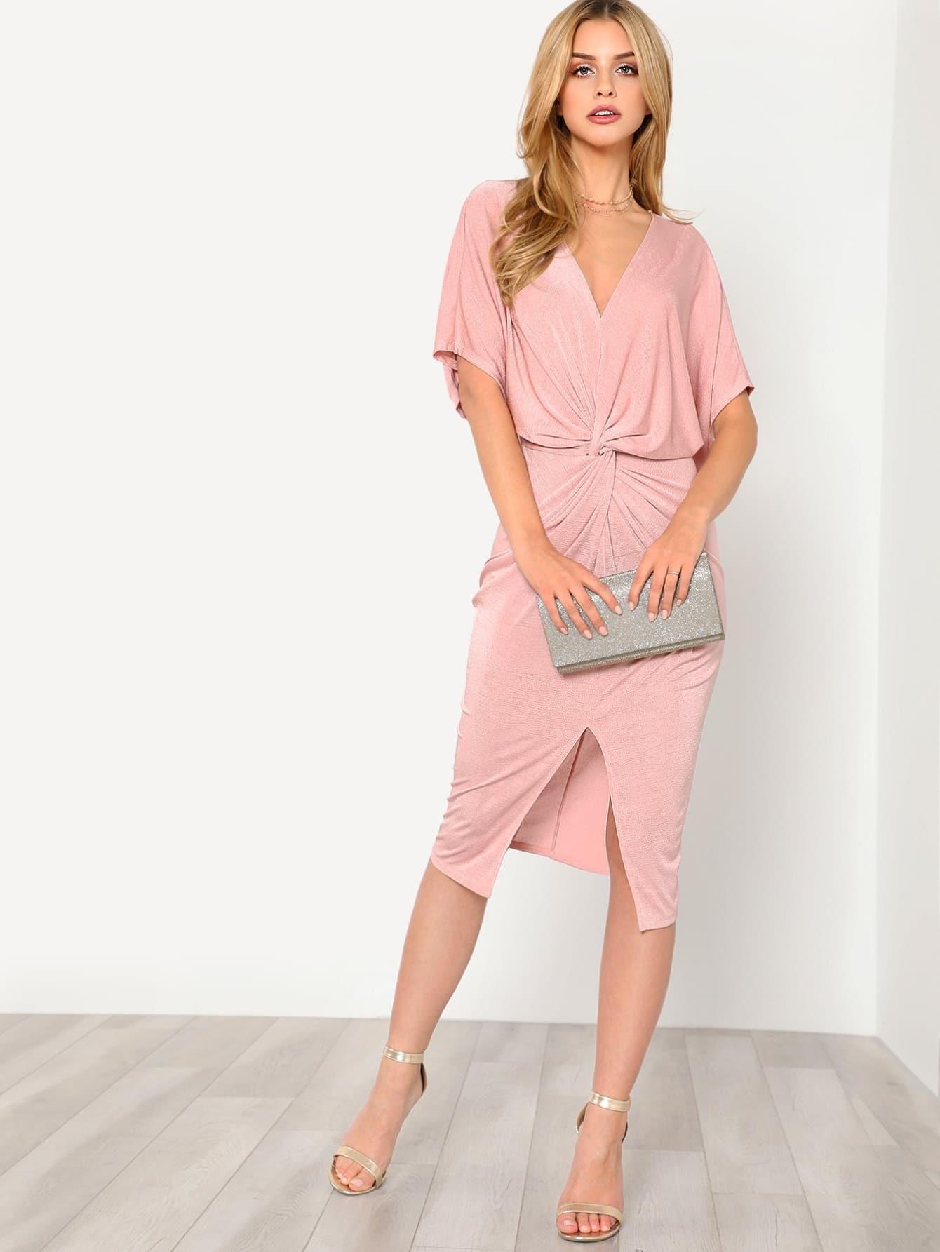 f642aff6d3 Cheap Twist Front Kimono Dress for sale Australia | SHEIN