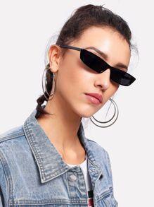Gafas de sol de lentes planas