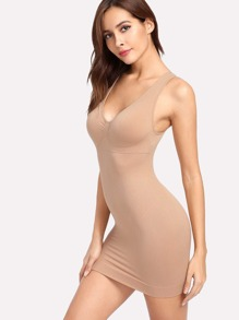 Ruched Detail Shapewear Slips