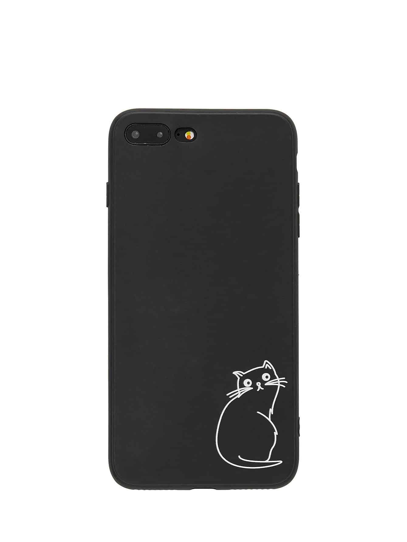 Cat Print iPhone Case planet print iphone case
