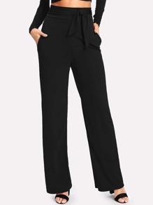 Pantalons ample avec lacet