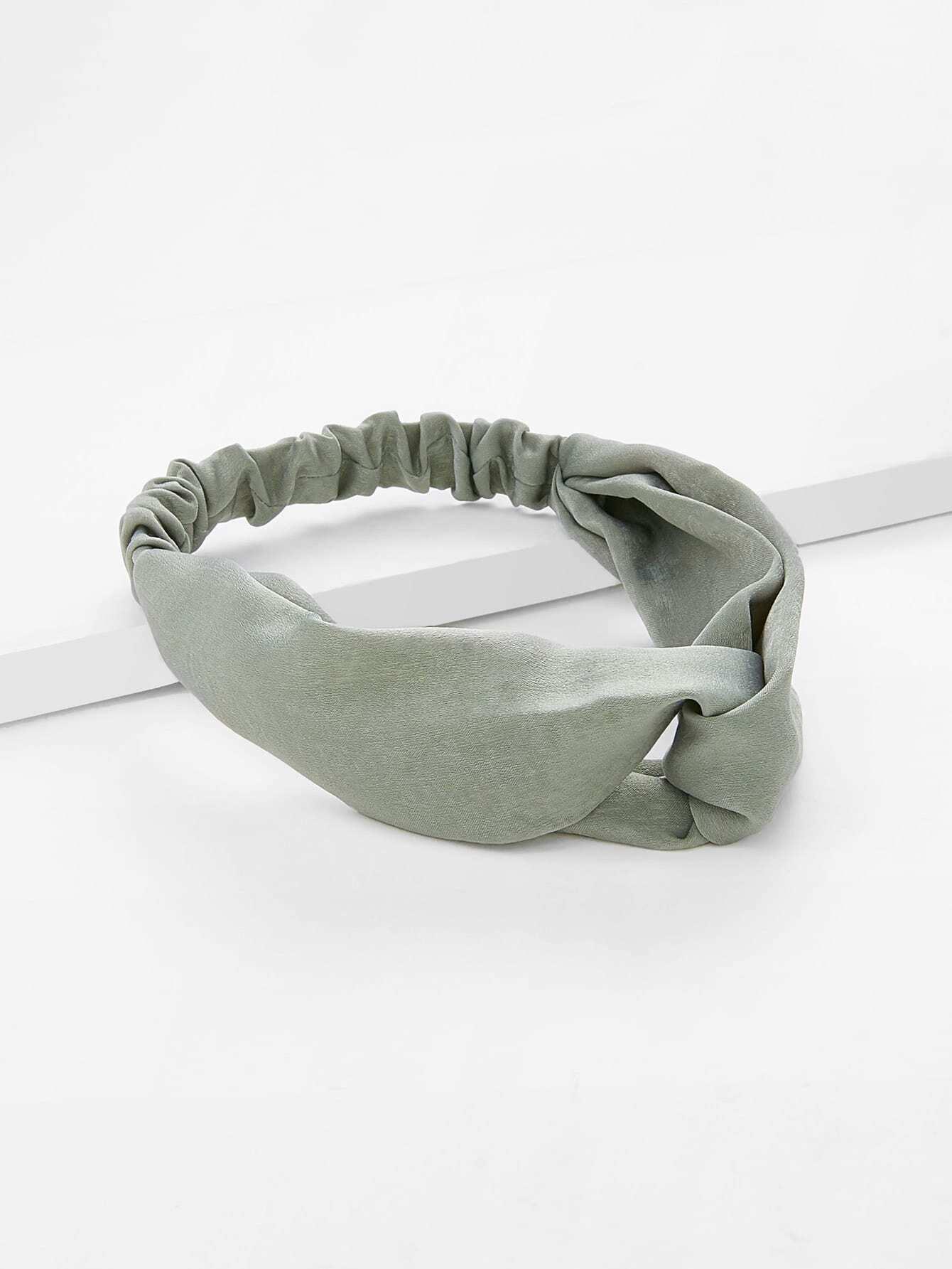 Twist Design Headband rib twist headband