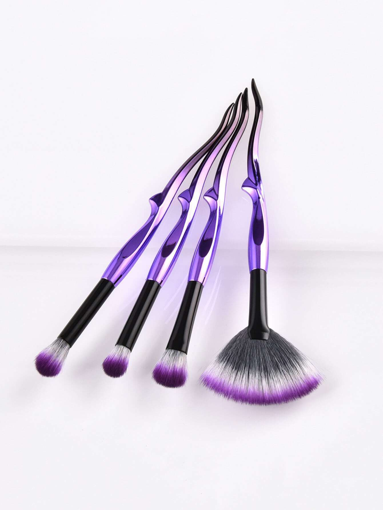 Image of Ombre Handle Makeup Brush 4pcs