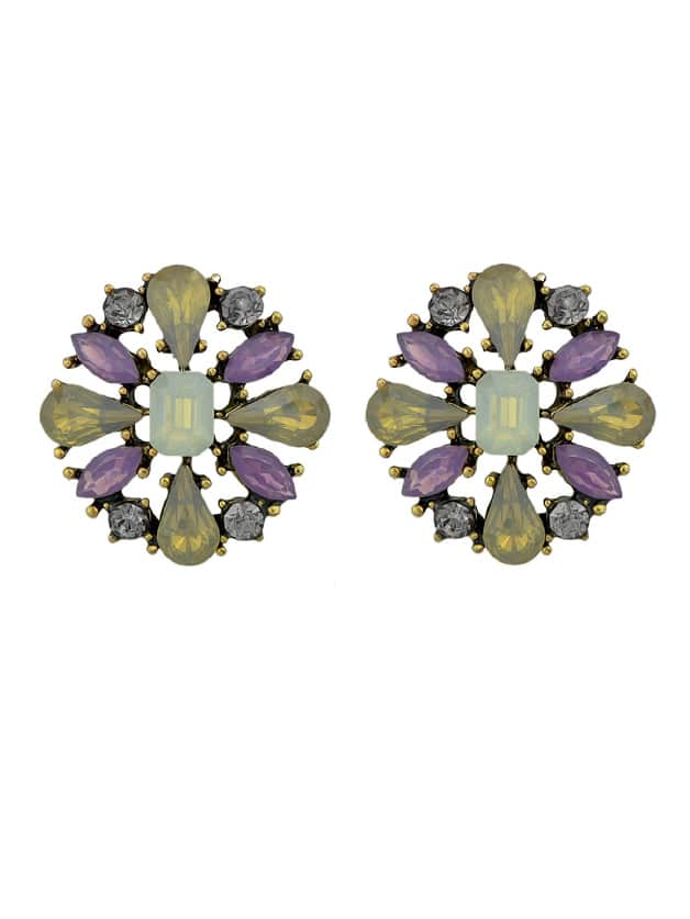 Image of Lovely Flower Stud Earrings For Women