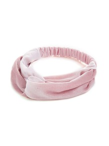 Velvet Twist Headband