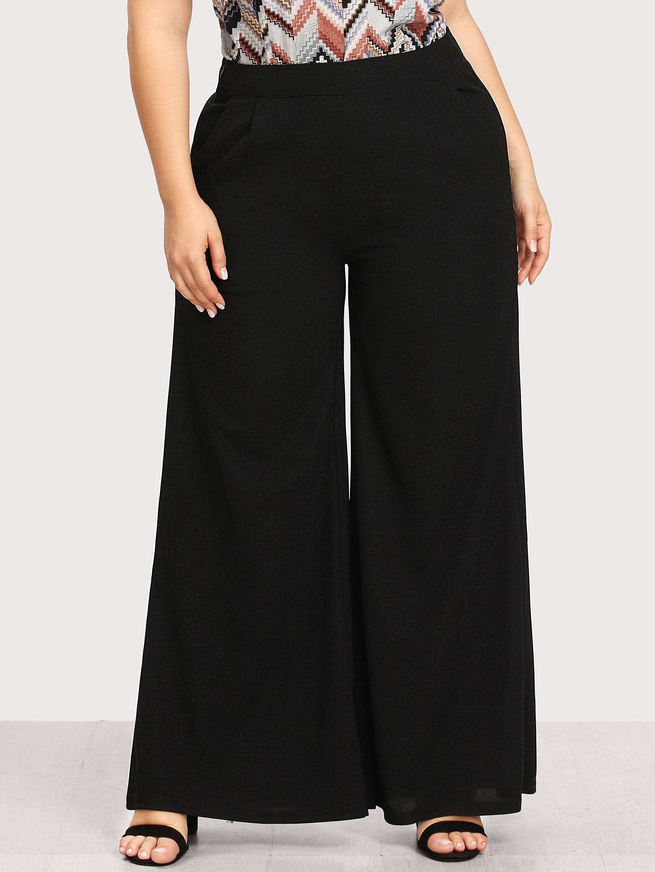 Image of Wide Leg Pants
