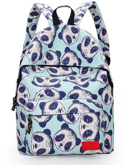 Mochila nylon con animal
