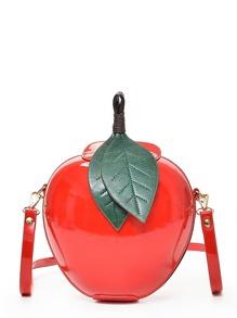 Apple Clutch Crossbody Bag