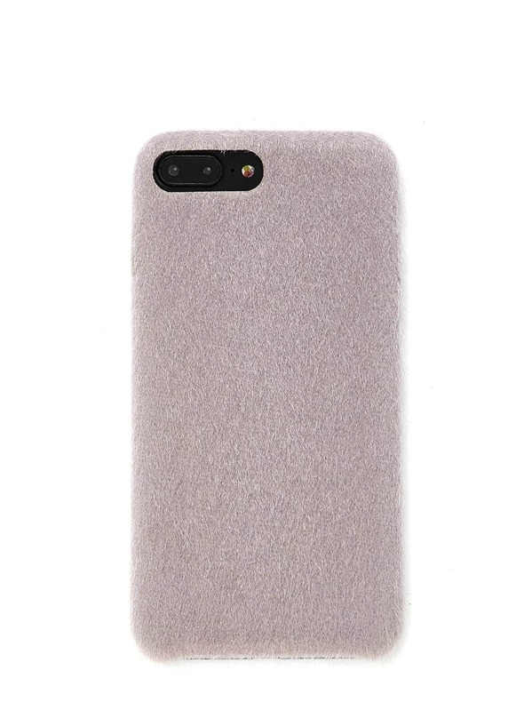 Faux Fur Overlay iPhone Case, null