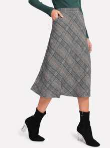 Wales Check Skirt