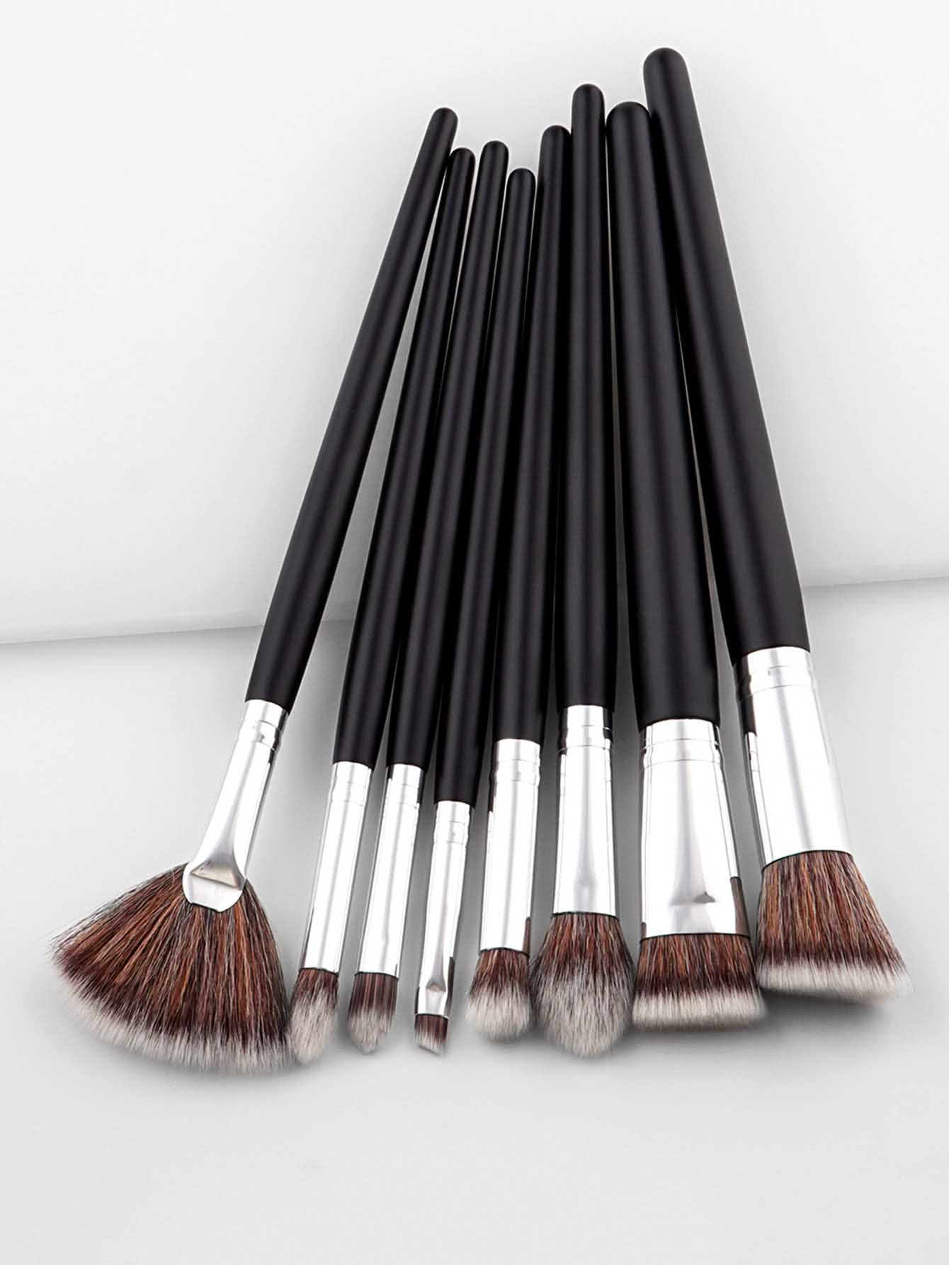 Two Tone Handle Professional Makeup Brush Set