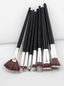 Two Tone Handle Professional Makeup Brush Set