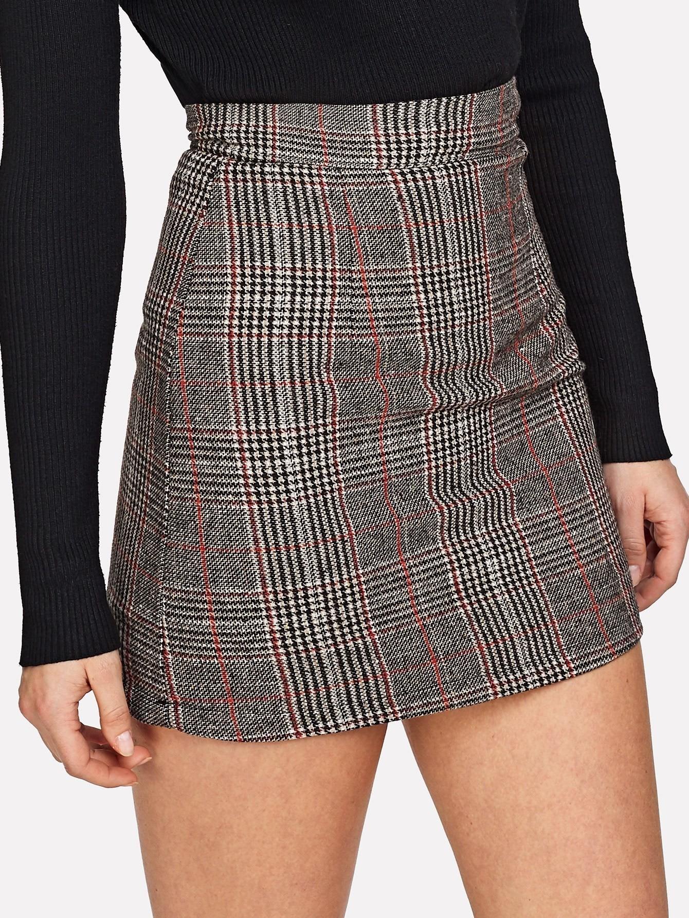 Купить Модная юбка, Michelle, SheIn